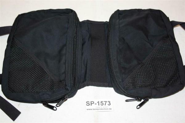 Taschen für Hundeweste SAG neu schwarz Hundegeschirr Hundeweste BW BUND K9 1573