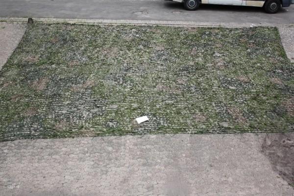 original Armee Militär Tarnnetz Dänemark Tarnung Jagd Hochsitz Ansitz 8,5m x 8m