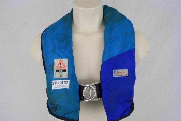 Rettungsweste A.W. Niemeyer Schwimmweste Lifejacket Kanuten CO2 1437