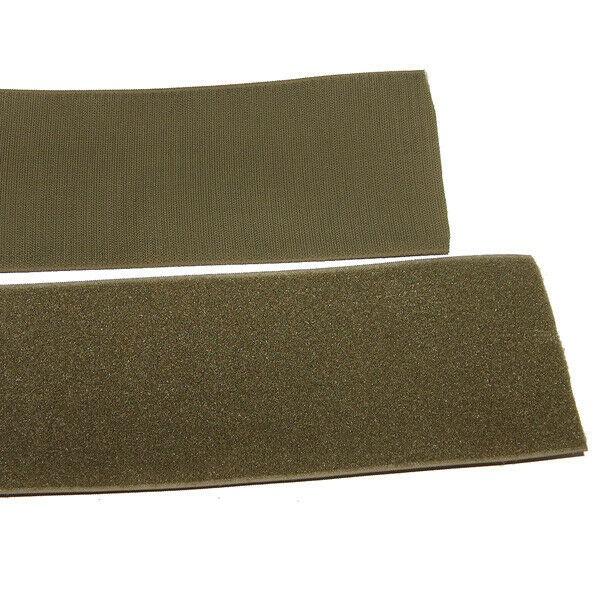 Klettband Klett Haken 50mm oliv H+F Flausch Industrieklettband aufnähbar stark