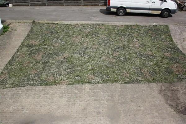 original Armee Militär Tarnnetz Dänemark Netz Hochsitz Ansitz 8,3m x 8,3m