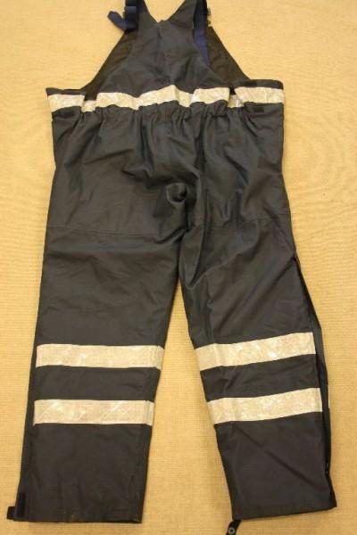 Brückenpersonal Hose Viking Rubber blau Gr M Wachpersonal Wetterschutzhose 518