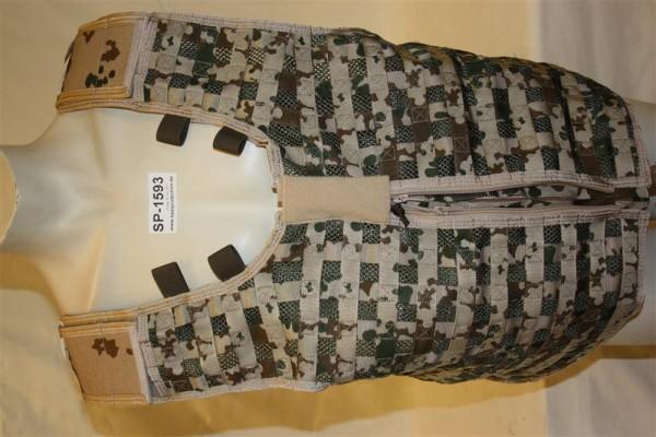 Einsatzweste Multidesign KSK Modular tactical Vest neu IDZ Trageweste BUND 1593