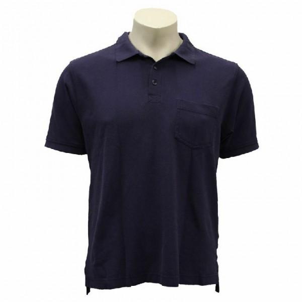 Feuerwehr Rettungsdienst Notarzt Poloshirt Größe M blau Johanniter Pullover THW