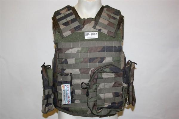 Zentauron Schutzweste Infanterist inklusive Taschen und Sk1 Einlagen