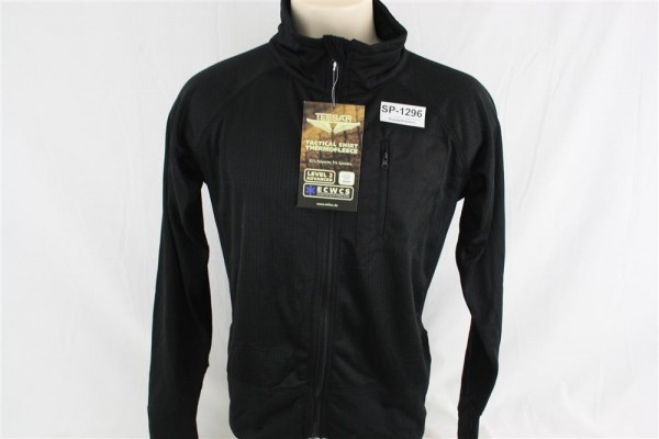 Teesar Inc. Neu Mil-Tec Military Tactical Thermo Fleece Jacke Shirt Black Gr. M 1296