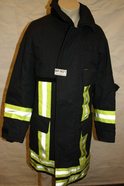 Feuerwehr Überjacke HuPF FW B-Ware FFW Jacke Einsatzjacke 1671
