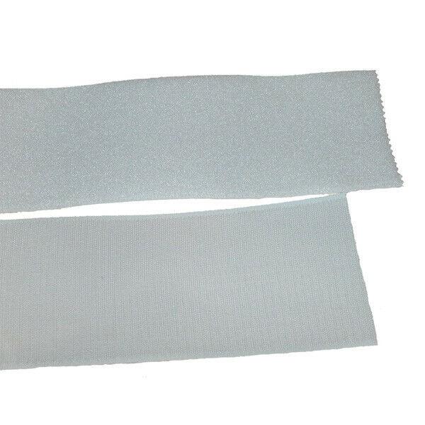 Klettband Klett Haken 100mm weiß H+F Flausch Industrieklettband aufnähbar stabil