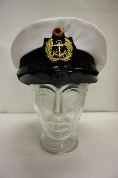Schirmmütze Kapitänsmütze Kapitän Fasching Karneval Mütze Matrose Marine Gr. 58