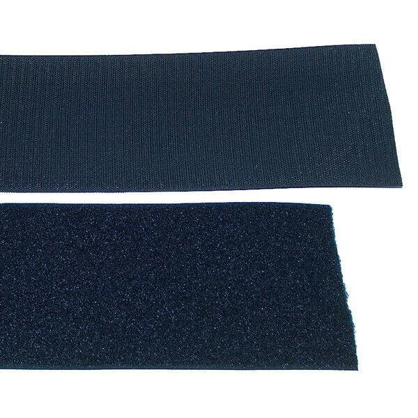 Klettband Klett Haken 100mm marine H+F Flausch Industrieklettband aufnähbar