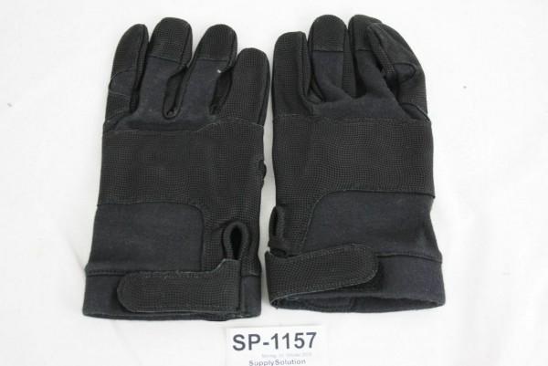 Bundeswehr schwarz taktische Handschuhe Gr XL 75 tactical security BUND BW 1157