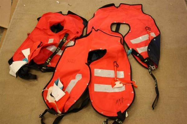 Rettungswesten 3 Stück Secumar Schwimmweste Lifejacket Bundeswehr Marine THW 817