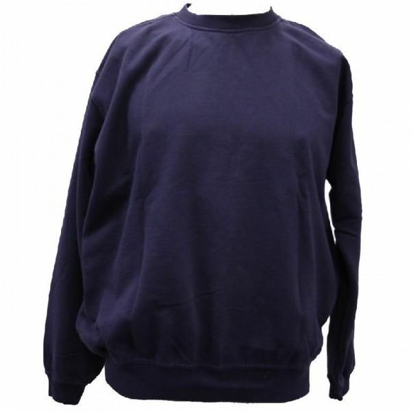 Feuerwehr Rettungsdienst Notarzt Sweatshirt Größe M blau Pullover navy thermo FW