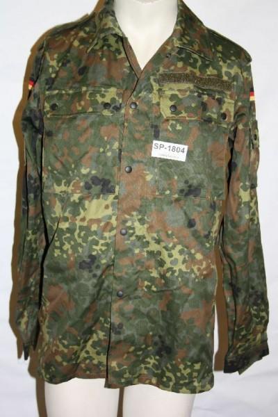 Bundeswehr Einsatzkampfbluse Gr. 6 Einsatz BW BUND flecktarn 5FTD IDZ 1804