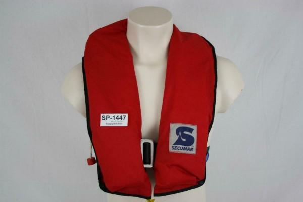 Rettungsweste Secumar Priva 150 Light Schwimmweste Ruderer Lifejacket CO2 1447