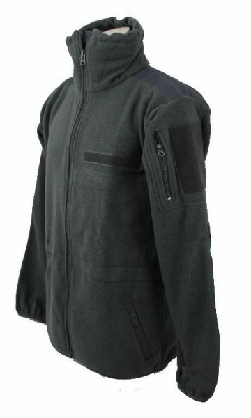 .Fleecejacke Größe XXL grau Outdoor Jacke Neu Survival Kälteschutz Einsatzjacke