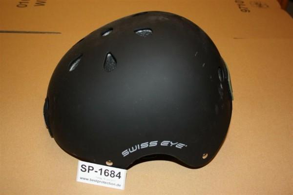 Trainingshelm Swiss Eye schwarz Airsoft gebraucht XXL 1684