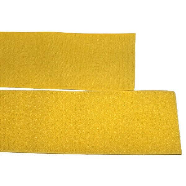 Klettband Klett Haken 50mm gelb H+F Flausch Industrieklettband aufnähbar stark