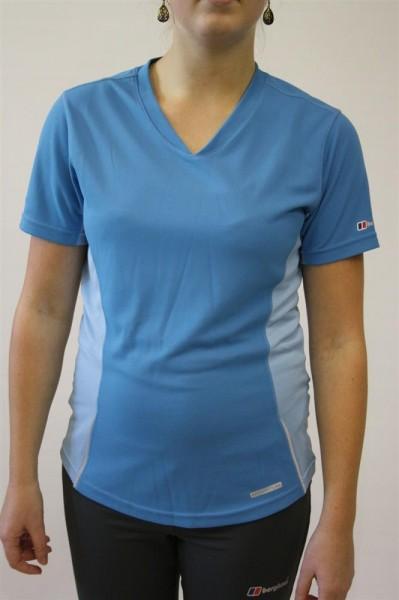 Berghaus T-Shirt Gr 38 - M Damen Outdoor Trekking Jogging blau