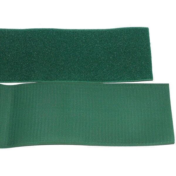 Klettband Klett Haken 150mm dunkelgrün H+F Flausch Klettband zum aufnähen stark
