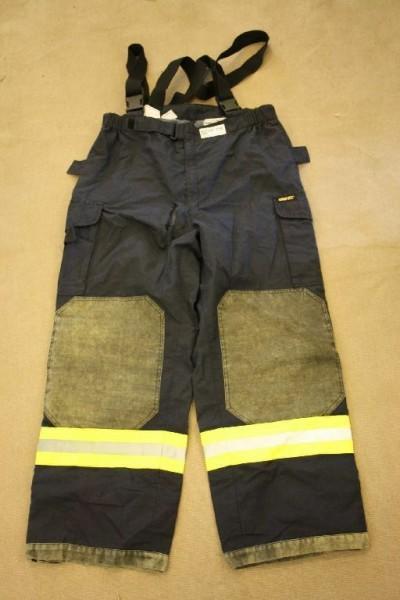 Feuerwehrüberhose SSK Lion Gr 50 Rettungsdienst Feuerwehr Nomex Aramid HuPF 756