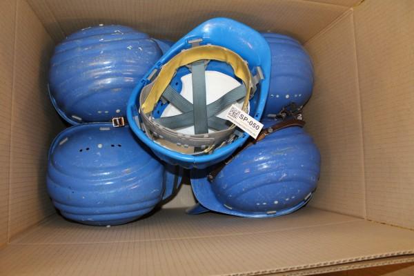 Helm Schuberth Werftarbeiter Einsatzhelm 11 Stk. blau Schutzhelm Ingenieur Werft Helm 50
