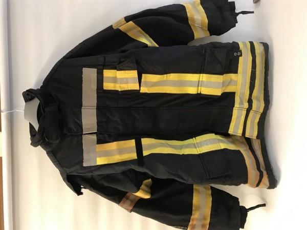Feuerwehrüberjacke GoreTex Gr. 58 Aramid DLRG THW Feuerwehr FFW HupF Typ A EN 469 1000