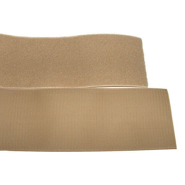 Klettband Klett Haken 50mm sand H+F Flausch klettband aufnähbar sehr stark
