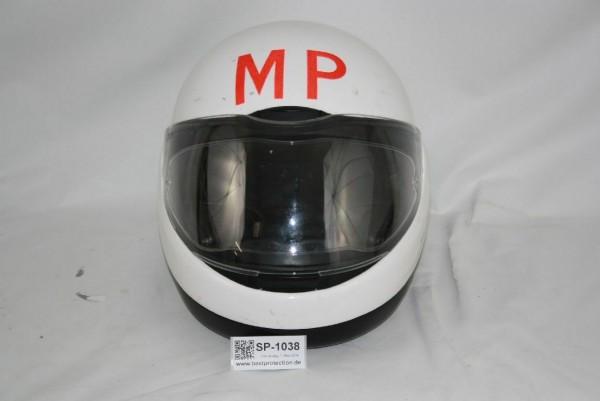 BMW Motorradhelm weiß Gr 58 59 CBR Integralhelm Klapphelm Helm Feldjäger BW 1038