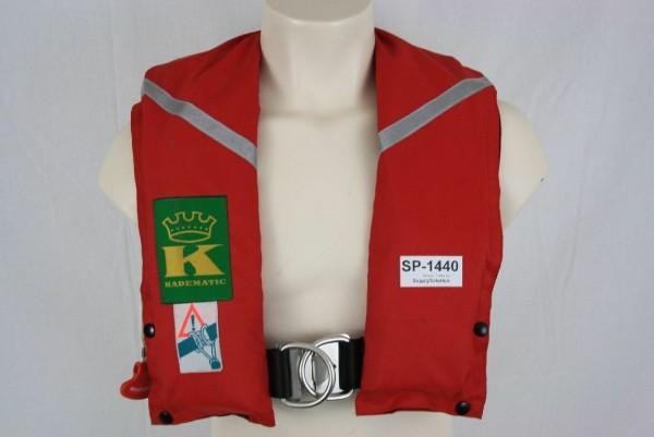 Rettungsweste Kadematic Schwimmweste Ruderer Lifejacket Kanuten CO2 1440