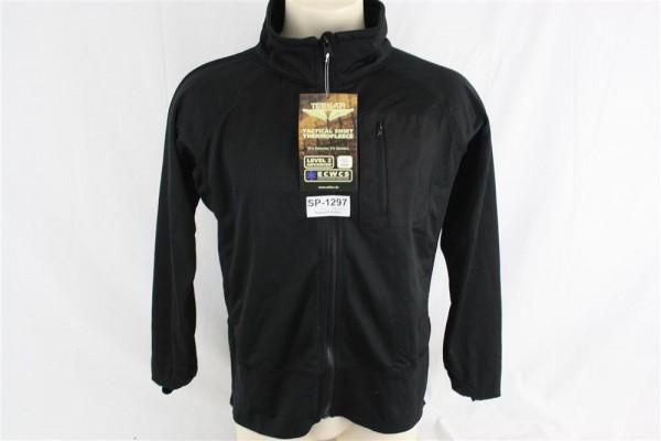 Teesar Inc. Neu Mil-Tec Military Tactical Thermo Fleece Jacke Shirt Black Gr. M 1297