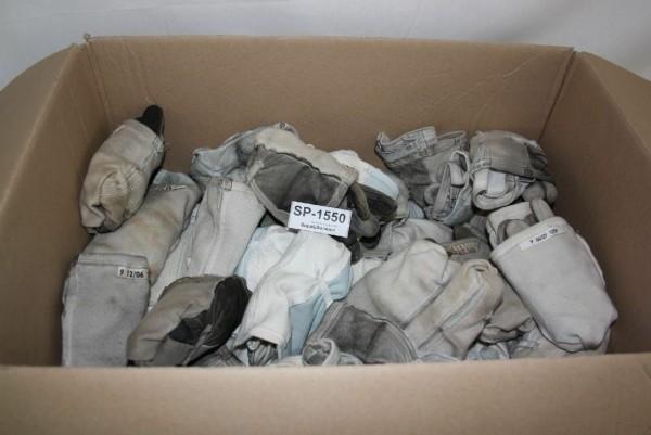 Bordhandschuhe Konvolut Gr 9 weiß 66 Paar Fliegerhandschuh Pilotenhandschuh 1550
