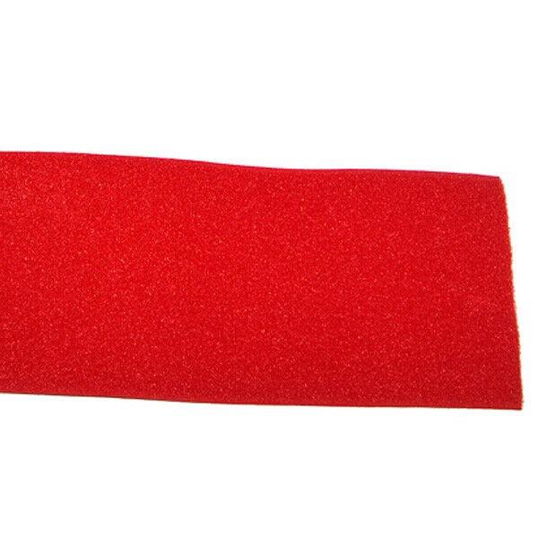 Klettband Klett Haken 100mm rot H+F Flausch Industrieklettband aufnähbar stark