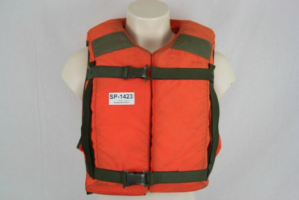 Rettungsweste Secumar Sicherheit Schutzbekleidung THW DLRG Boot Feuerwehr 1423