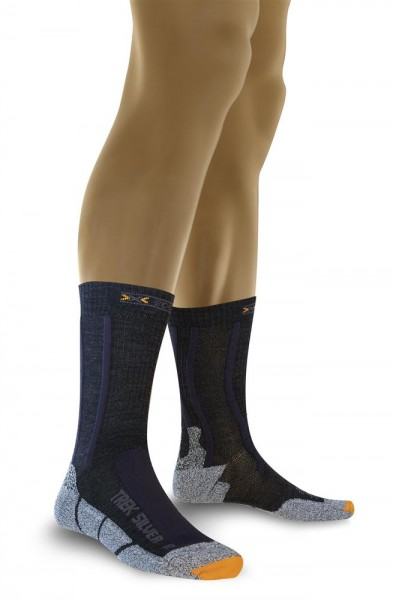 X-SOCKS Trecking Metal Gr 4 45 46 47 Socken Wandersocken