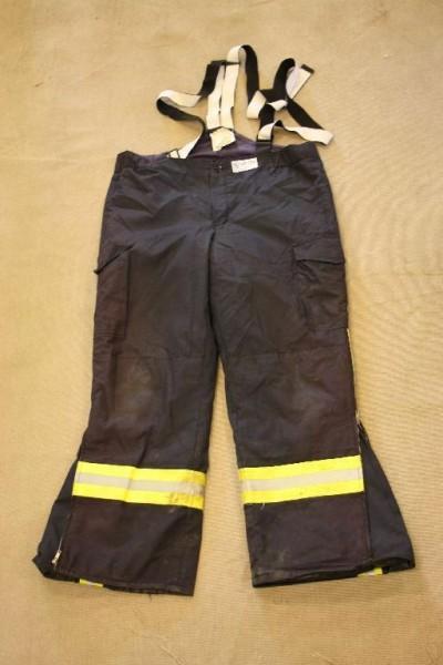 Feuerwehrüberhose Feuchter Gr 50 Aramid Nomex Delta Feuerwehr Brandschutz bw 724